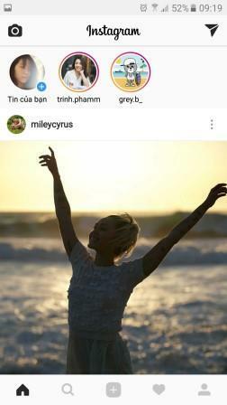Đăng nhập vào tài khoản Instagram
