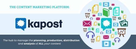 Kapost- công cụ quản lý chiến dịch Content Marketing