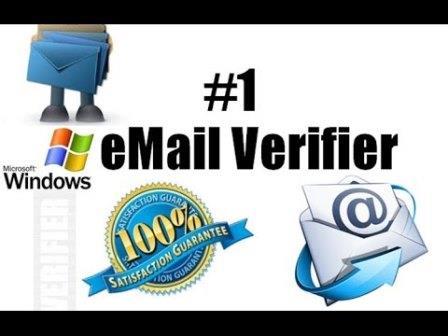 Phần mềm lọc Email sống chết miễn phí- Email Verifier