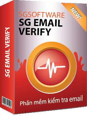 Phần mềm kiểm tra Email miễn phí- SG Email Verify