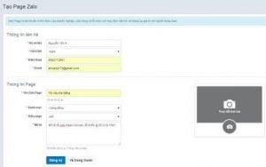 Quy trình xét duyệt và kích hoạt tài khoản Zalo Page