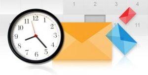 Lựa chọn thời điểm thích hợp gửi Email Marketing