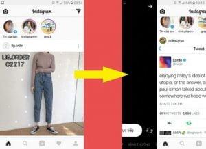 Truy cập ứng dụng phát Live Stream trên instagram