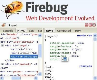 Add- on Firebug
