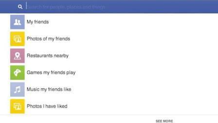 Facebook Update tính năng tìm kiếm