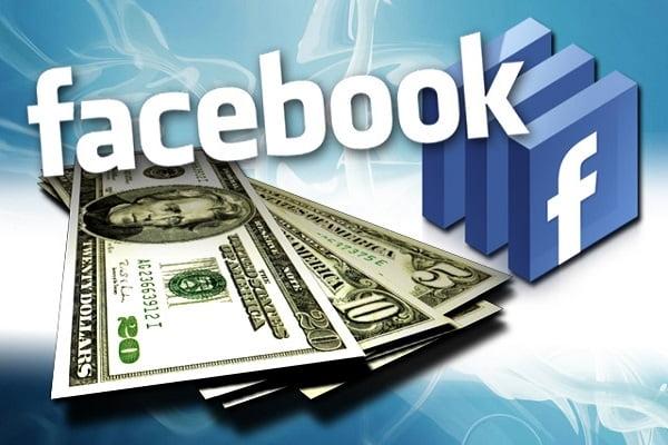kiếm tiền trên Facebook