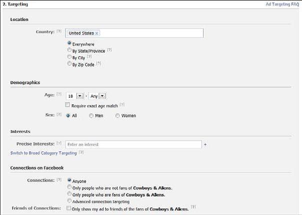 Xác định đối tượng mục tiêu- hướng dẫn tạo quảng cáo trên Facebook.