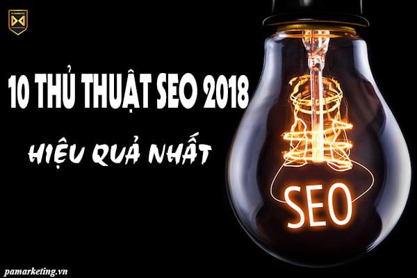 10-thu-thuat-seo-2018-hieu-qua