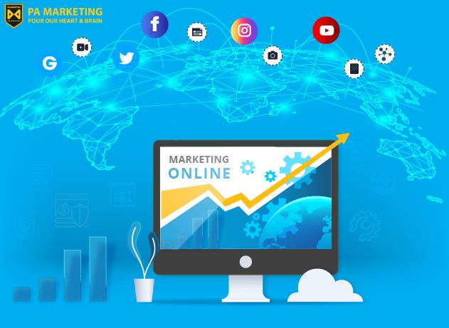 Bối cảnh về Marketing trực tuyến