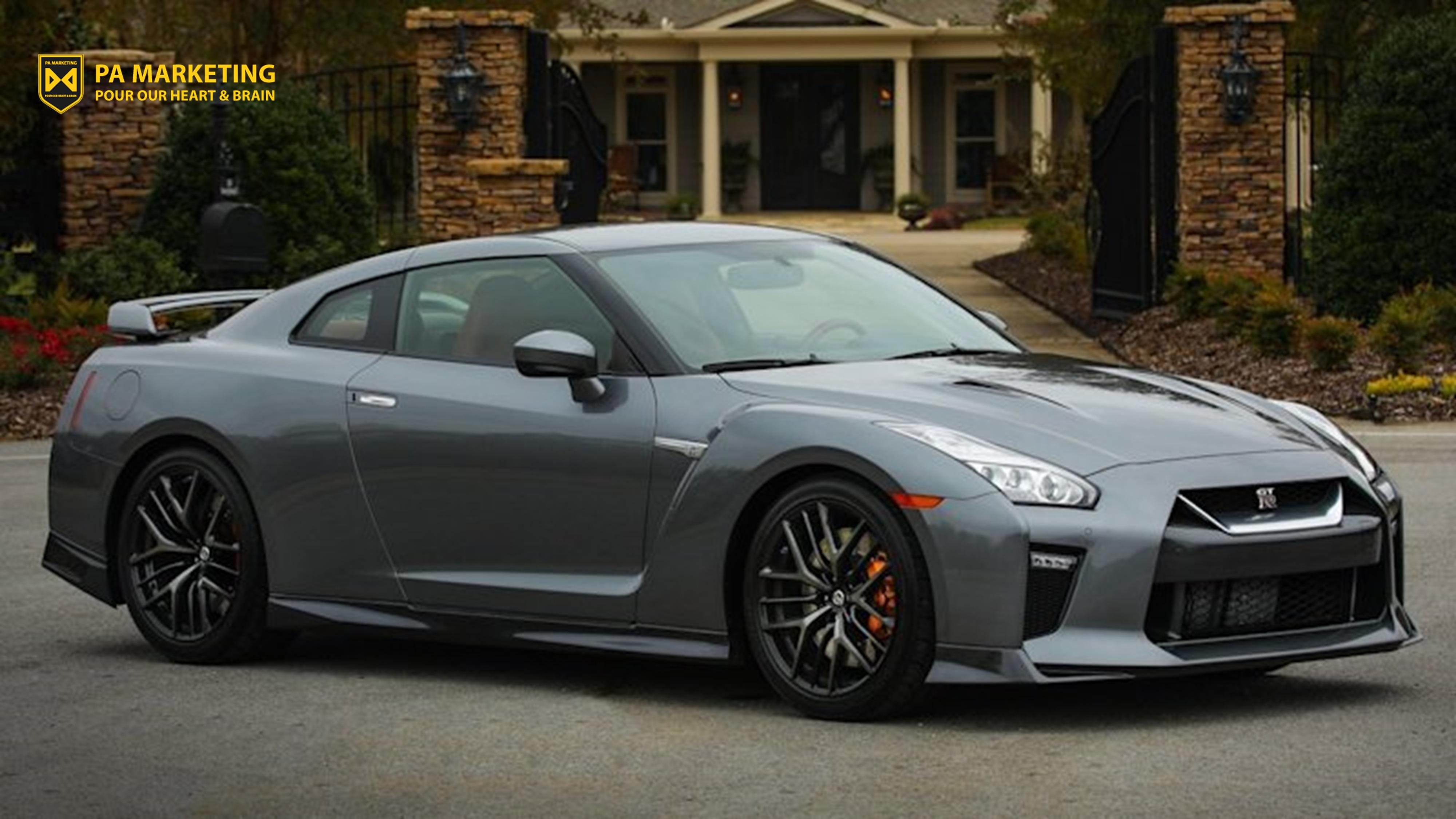 Mô hình kinh doanh đăng ký hai tầng của Nissan bao gồm GTR-R (hạng hai 899$/tháng)