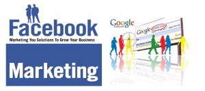 Quảng cáo Facebook và quảng cáo Google